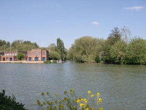Isis Towpath_boatsheds and Cherwell2