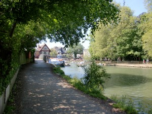 Isis Towpath_nearing Oxford