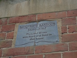 Sussex_Sassoon plaque