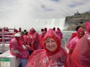 Toronto Niagara Falls Boat tripDeb