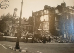 West end at war - Berkeley Square photo
