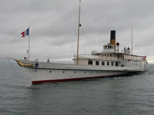 Lausanne_Paddle steamer