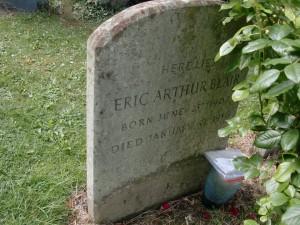 Sutton Courtenay - Orwell's grave