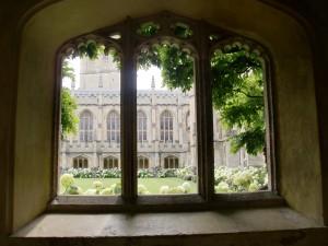 Magdalen - window