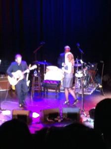 Joan in concert